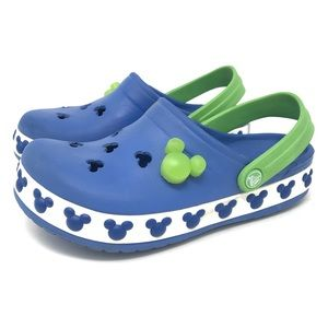 Disney Crocs Little Boys Size 12/13